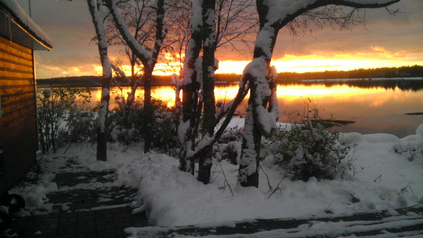 Kapteni puhkemaja talv